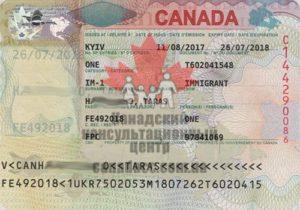 Иммиграционная виза в Канаду, Тарас