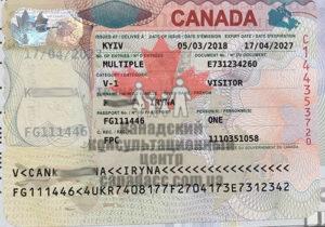 Иммиграционная виза в Канаду, Ирина 2018