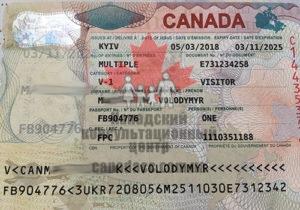 Иммиграционная виза в Канаду, Владимир, 2018