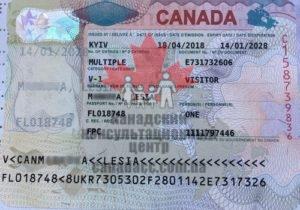 гостевая виза в канаду, леся, 2018